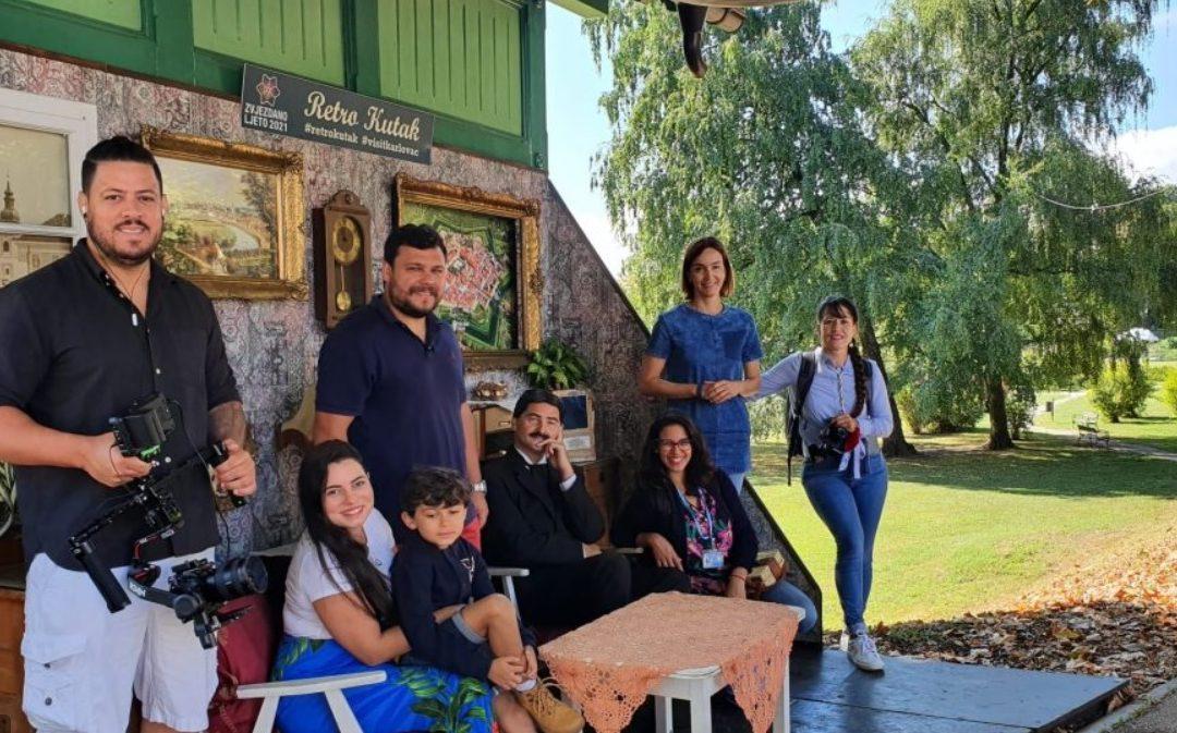"""Brazilska TV ekipa Cris Pelo Mundo gostuje u Hrvatskoj, a popularni voditelji snimaju četvrtu sezone turističkog serijala """"Cris oko svijeta"""""""